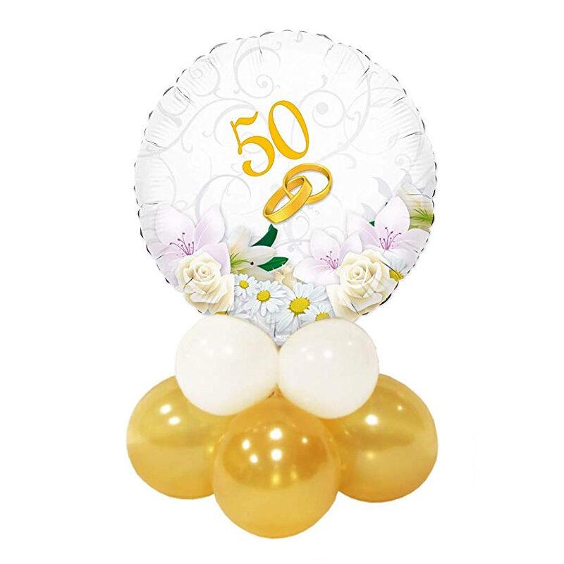 composizione palloncini 50 anni Momenti Felici