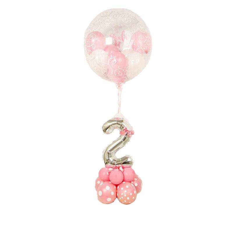 palloncino con numero compleanno