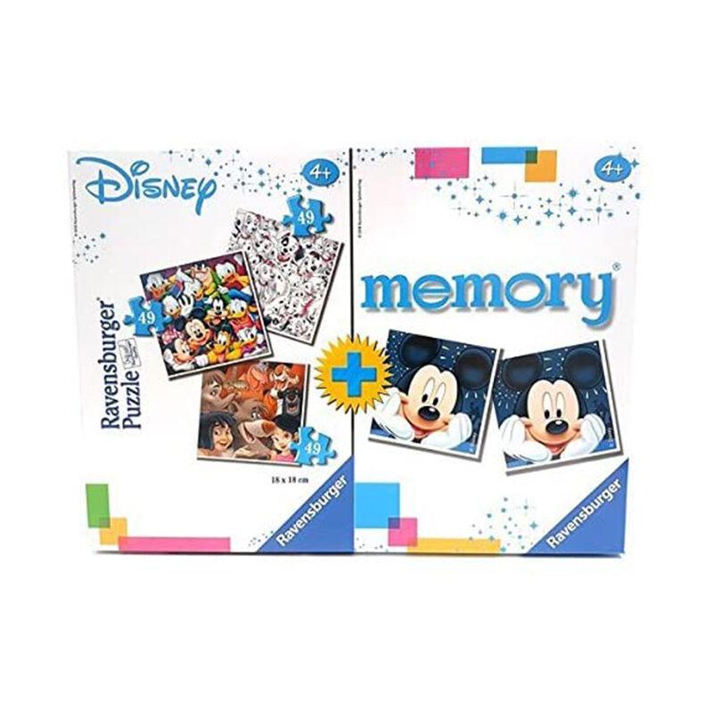 gioco puzzle più memory disney