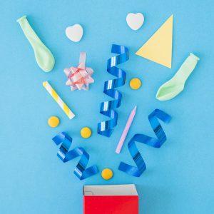 Party Box tutto l'occorrente per decorare e allestire le tue feste